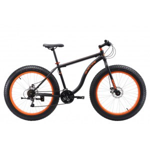 Black One Monster 26D Fat bike 2018